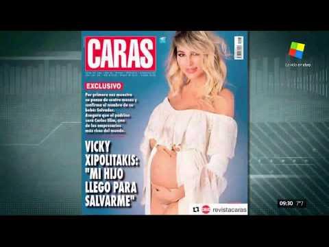 El embarazo de Vicky Xipolitakis