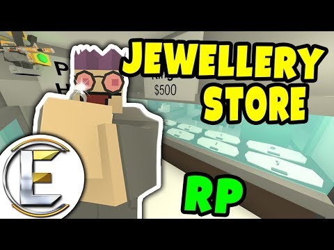 Jewellery Store RP | Selling Silver and Platinum diamond rings for great prices - Unturned Roleplay