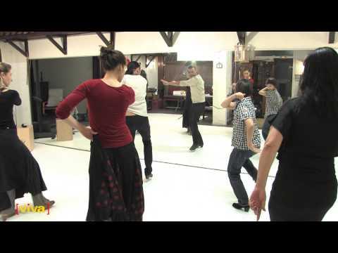 La Fragua - Ecole de danse Flamenco à Villeurbanne (Viva interactif 2015)