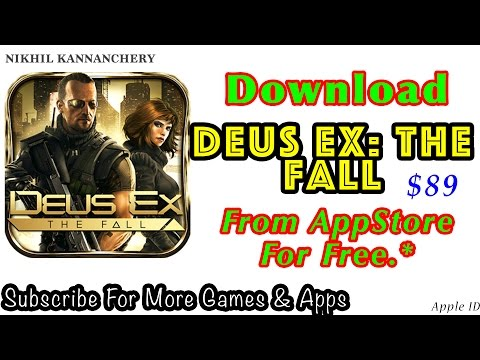 Repeat Download Deus Ex The Fall FREE from Apple App Store