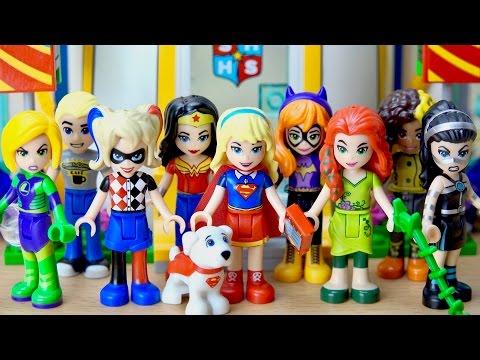 LEGO DC Super Hero Girls 41232 Super Hero High School Supergirl Poison Ivy Lena Luthor