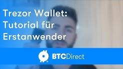 Bitcoin hardware wallet Trezor brauchen, im Deutsch | BTC Direct
