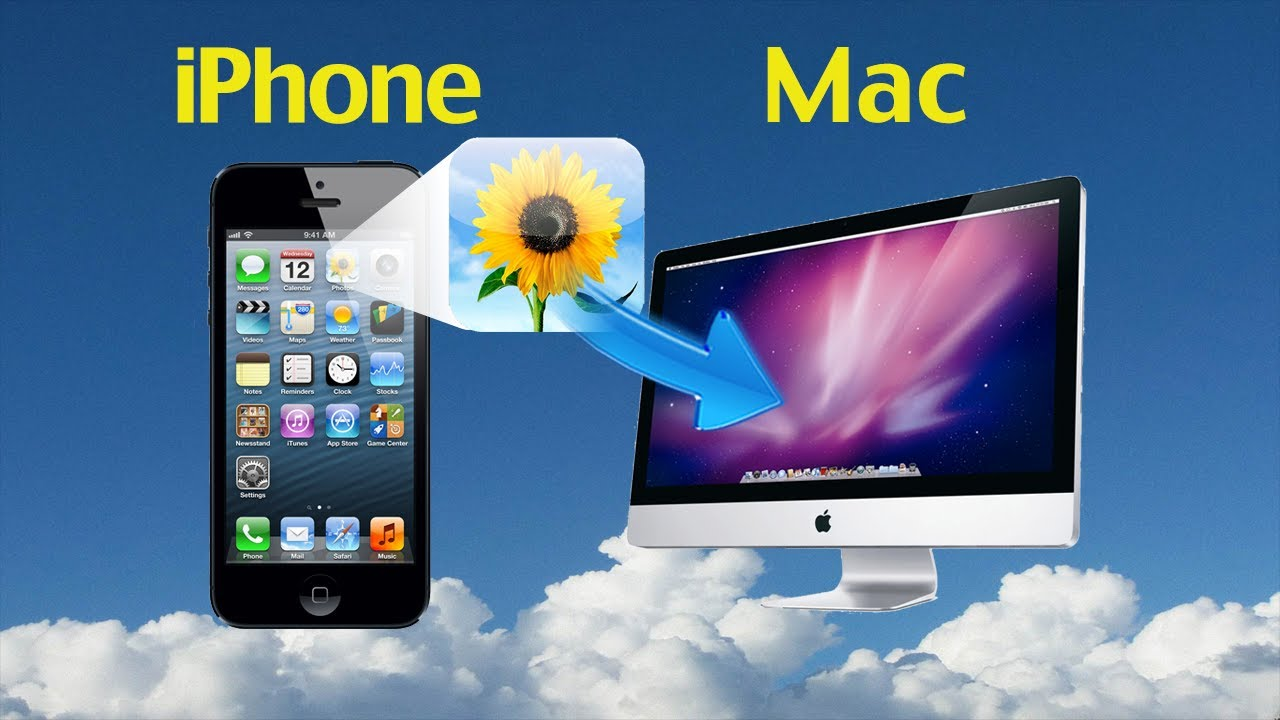 how to sync iphone with mac how to transfer photos from iphone 5 4s 4 to mac in batch 19132