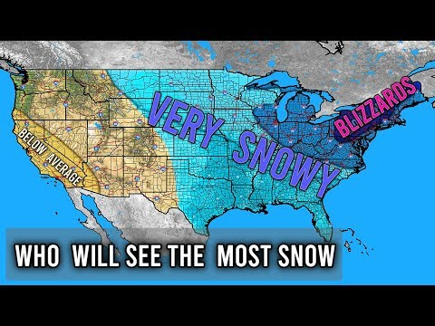 Who Will See The Most Snow This Winter