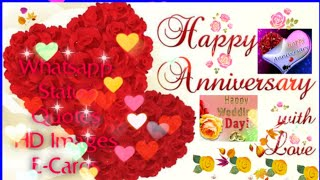 Happy Anniversary||Wedding Anniversary wishes/Greetings/Quotes/SMS for Couple/Whatsapp Status-WHY TV