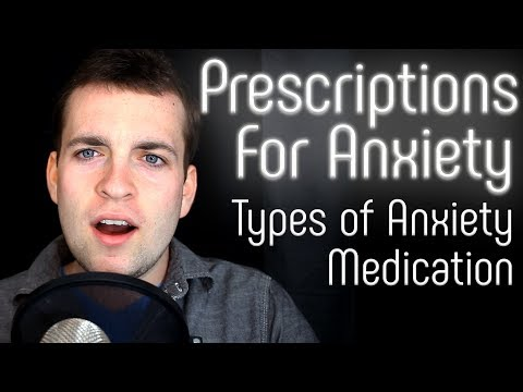 Three Effective Types of Prescription Anxiety Medication