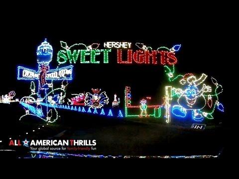 sweet lights drive through pov at hershey - Hershey Christmas Lights