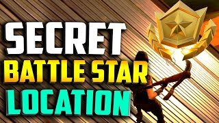 SECRET BATTLE STAR WEEK 5 LOCATION! Fortnite Secret Tier Week 5 Season 5