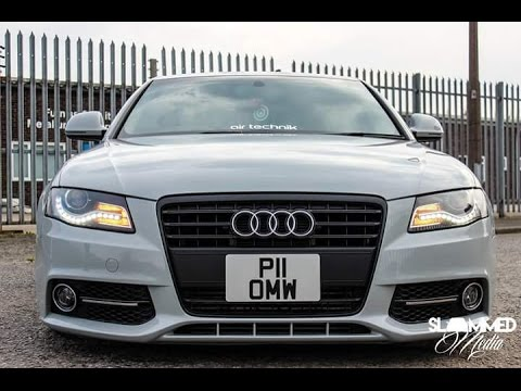 my bagged audi a4 b8 youtube. Black Bedroom Furniture Sets. Home Design Ideas
