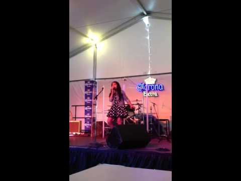 9 Year old cover of Blown Away  Isabel Sanchez Amazing