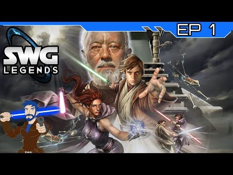 Star Wars Galaxies – The Return of A Jedi – SWG Legends – Episode 1