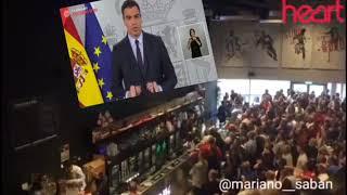 Aplausos a la dimisión de Pedro Sánchez