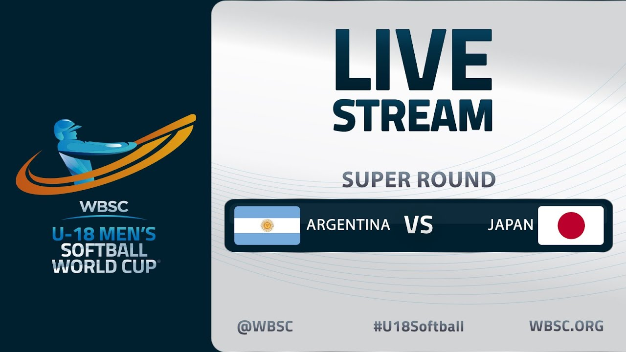 Argentina v Japan - U-18 Men's Softball World Cup 2020 - Super Round