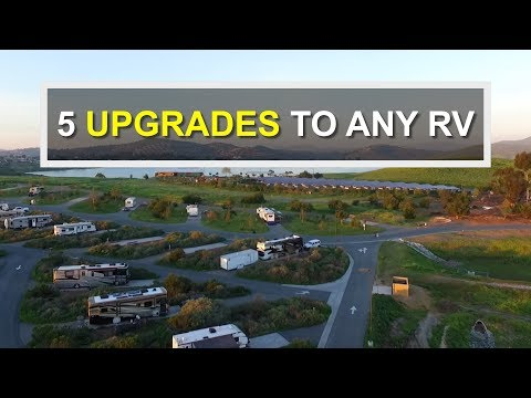 5 Basic UPGRADES For Your RV or Camper (RV Living)