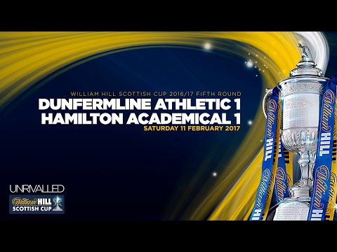 Dunfermline 1-1 Hamilton Academical | William Hill Scottish Cup 2016-17 - Fifth Round