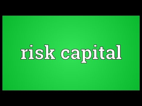 Risk capital Meaning
