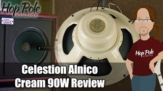Celestion Alnico Cream Review - 90W classic - Not so Vintage after all!