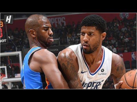 Oklahoma City Thunder vs Los Angeles Clippers - Full Game Highlights | November 18, 2019 NBA Season
