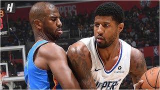 Oklahoma City Thunder vs Los Angeles Clippers - Full Game Highlights   November 18, 2019 NBA Season