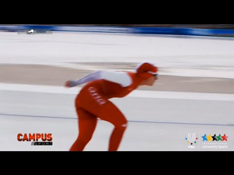 2nd World University Speed Skating Championship - 31th CAMPUS Sport TV Show - FISU 2015