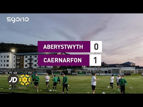 Aberystwyth Caernarfon Goals And Highlights