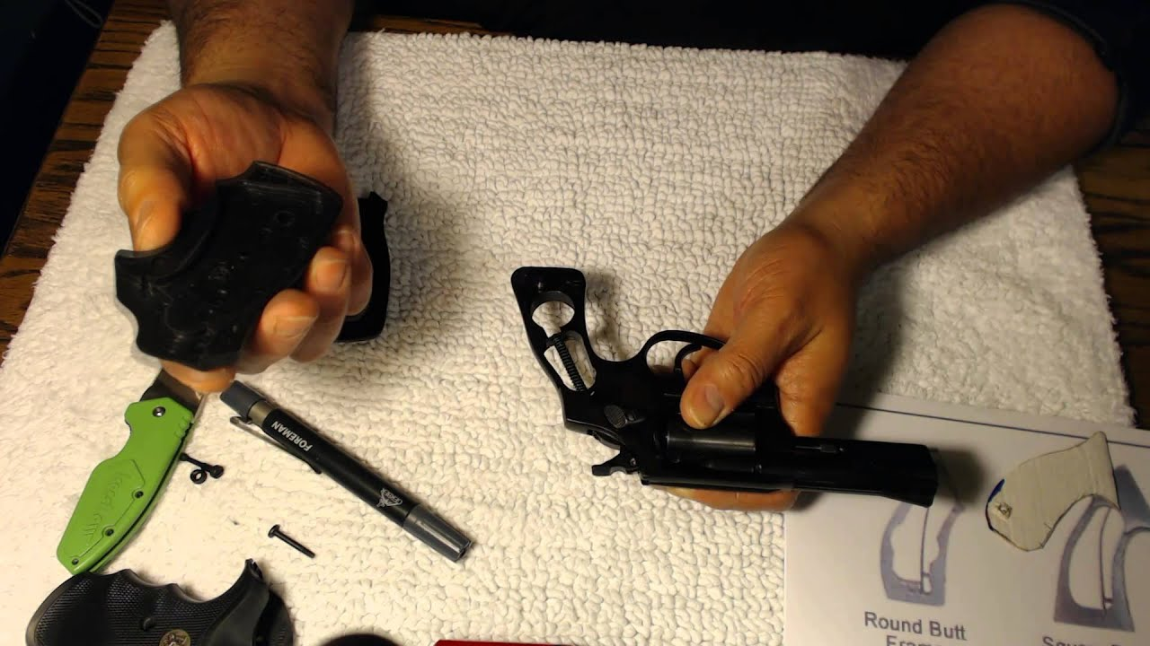 Rossi Model 351 Handgun Grip Issues & Installation (38 Special, 3 Inch)
