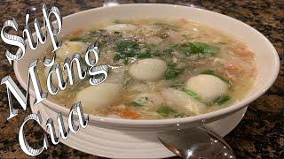 Súp Măng Cua - Cách nấu súp măng cua đơn giản thơm ngon - Asparagus Crab Soup