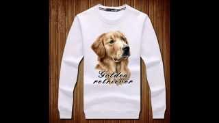 Golden Retriever Dog Pullover Sweatshirt