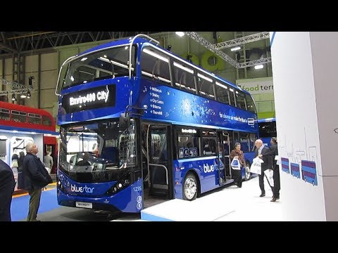 Euro Bus Expo 2018 At The NEC Birmingham