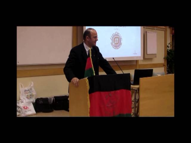 Afghan Cultural Committee in Sweden - M.Tariq Bazger Part 2