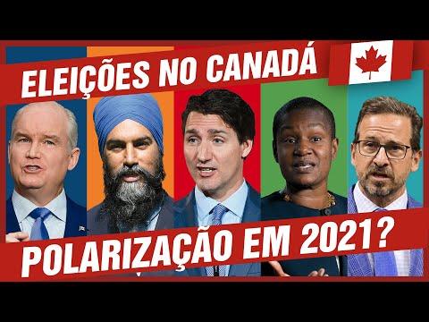 Todas as expectativas das eleições no CANADÁ em 2021 🇨🇦