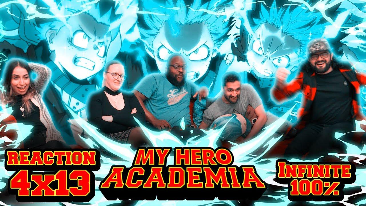 Download My Hero Academia - 4x13 Infinite 100% - Group Reaction