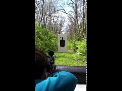22 Caliber Rifle Shooting