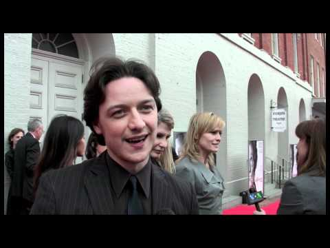 """James McAvoy at the D.C. Premiere of """"The Conspirator"""""""