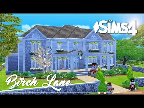 The Sims 4 Speed Build - Birch Lane