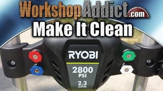 Ryobi Pressure Washer 2800 PSI / 2.3 GPM