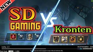kronten vs SD Gaming   new mode 4vs4 first youtuber fight upload