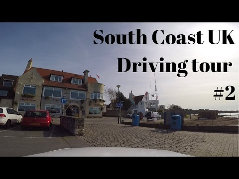 UK driving Hampshire and the South Coast