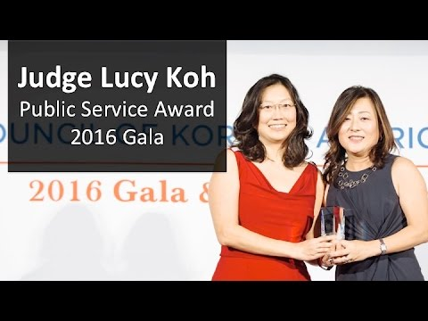 Judge Lucy Koh - 2016 Gala
