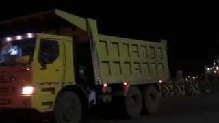 XCMG Off Road Dump Trucks Operation