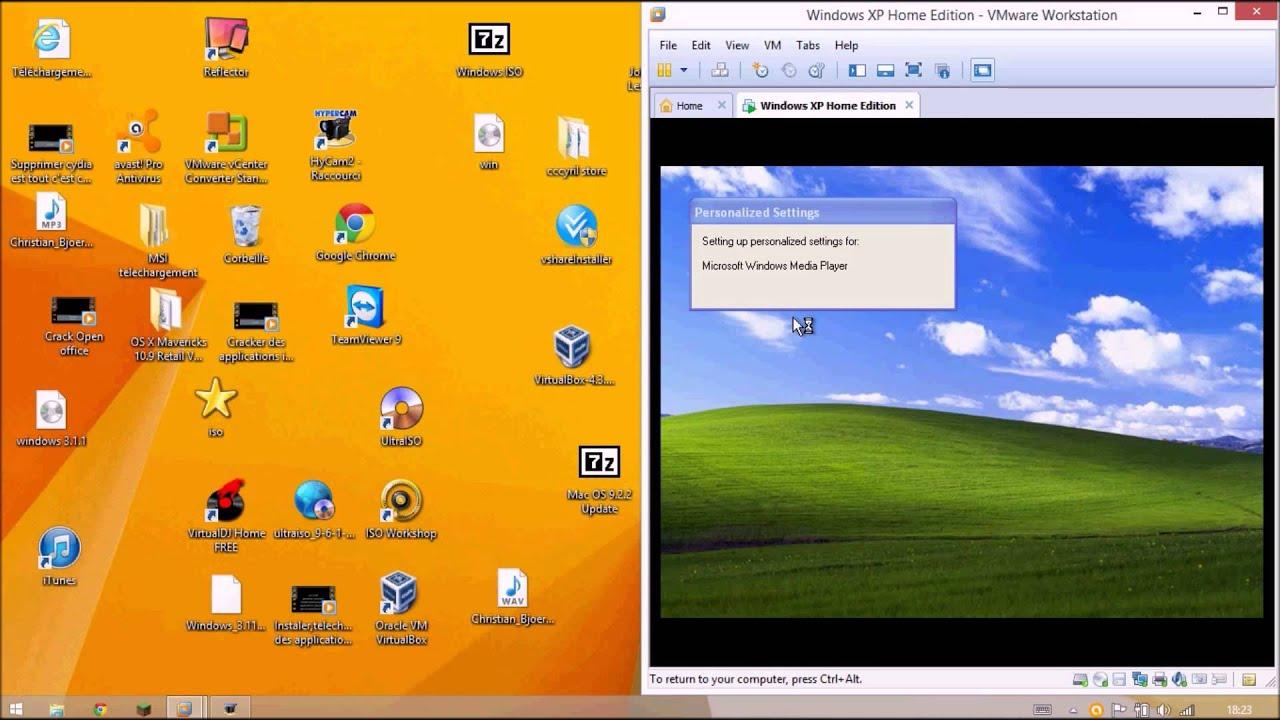 Virtualiser Windows Xp Et Le Mettre En Plein Ecran Full Hd 1080p