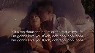 Gambar cover Dan + Shan & Justin Bieber - 10,000 Hours (Lyrics)