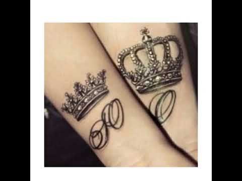 Couples Matching Tattoo Designs Idea
