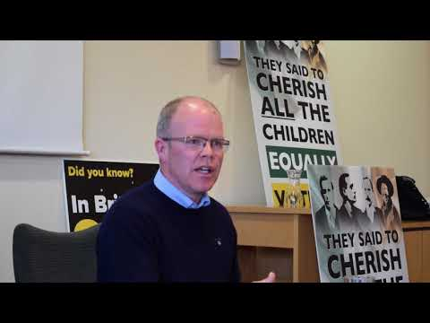 Peadar Tóibín, Wexford Cherish all the Children Equally.