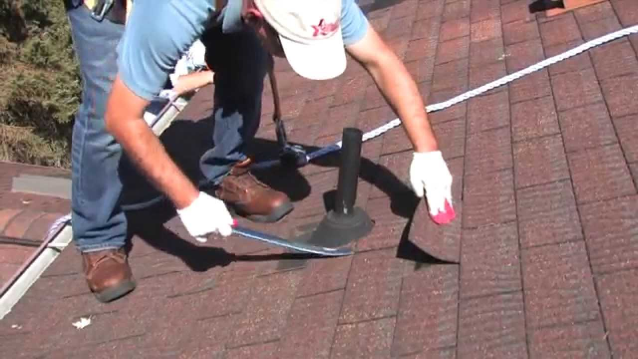Leaking Roof Repair roof leak repair (pipe collar or vent stack) hd 720pgutterman