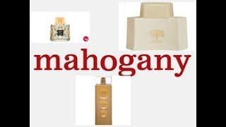 Perfumes mahogany quase idênticos aos importados...