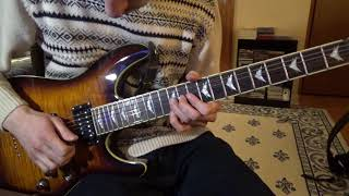 The Neal Morse Band - Draw The Line (Guitar Solos Cover)