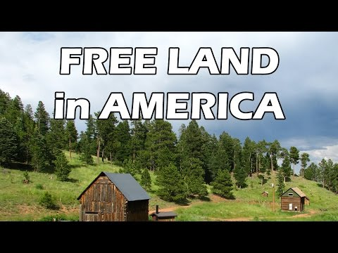Homestead Free Land in America