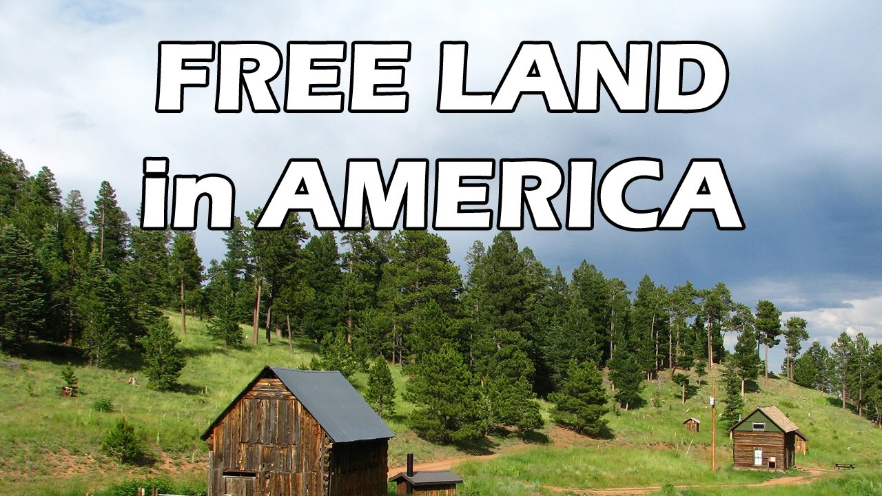 homestead free land in america youtube