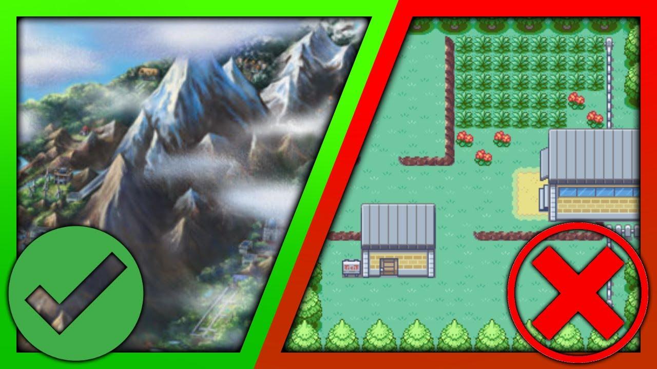 The Best and Worst Areas in Every Pokemon Region (Kanto - Sinnoh)